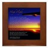 High Flight Framed Tile