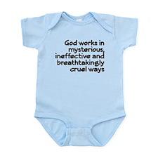 God Works In Mysterious Ways Onesie