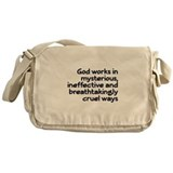 God Works In Mysterious Ways Messenger Bag