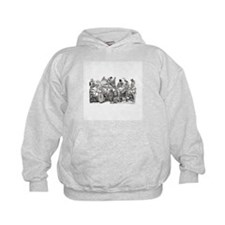 Calaveras on Wheels Hoodie