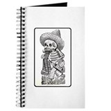 Calavera with Bottle Journal