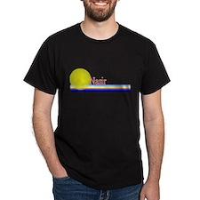 Nasir Black T-Shirt