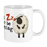 Id rather be sleeping Zzz Matt Layla Small Mug