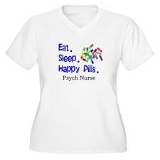 Eat Sleep Happy Pills.PNG T-Shirt