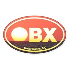OBX Outer Banks Sunset Decal