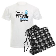 Never Give Up Prostate Cancer Pajamas