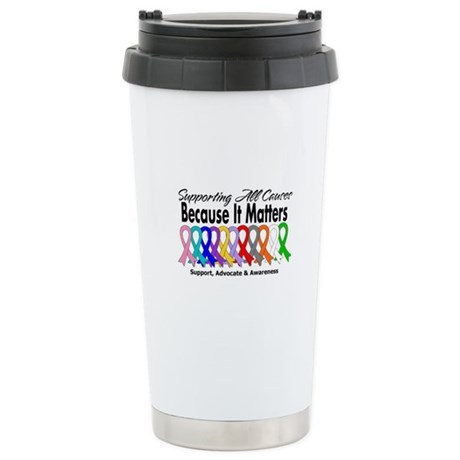 Supporting All Causes Ceramic Travel Mug