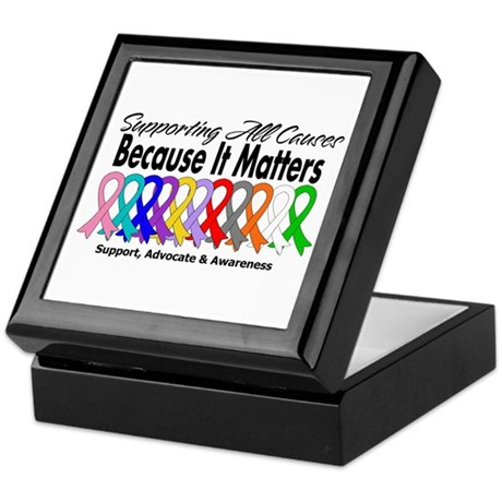 Supporting All Causes Keepsake Box