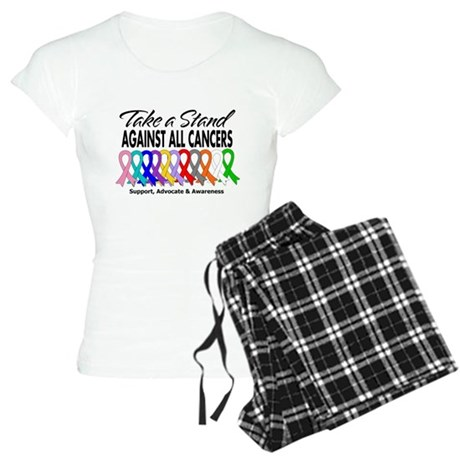 Take A Stand All Cancers Women's Light Pajamas
