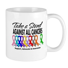 Take A Stand All Cancers Mug