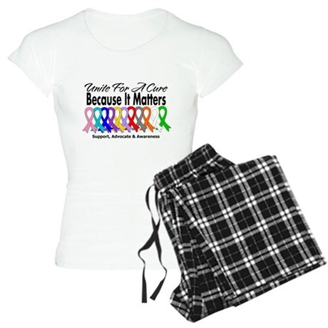 Unite For A Cure Women's Light Pajamas