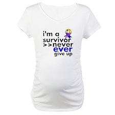 Never Give Up Bladder Cancer Shirt