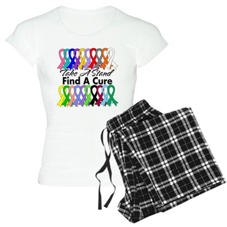 Take A Stand Find A Cure Women's Light Pajamas
