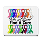 Take A Stand Find A Cure Mousepad