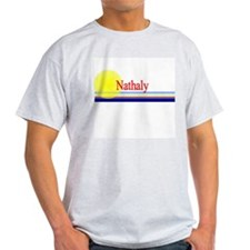 Nathaly Ash Grey T-Shirt