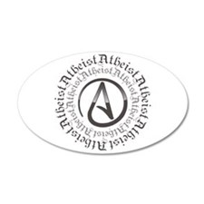 Atheist Circle Logo Wall Decal