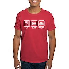 Eat Sleep Curling T-Shirt