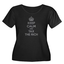 Keep calm and tax the rich T