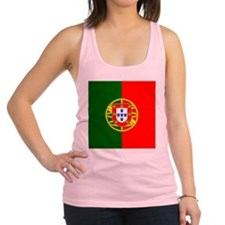 Portugal Flag Racerback Tank Top