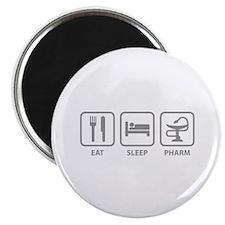 Eat Sleep Pharm Magnet