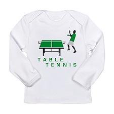 table tennis Long Sleeve Infant T-Shirt