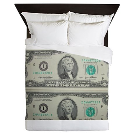 FOUR DOLLARS™ Queen Duvet