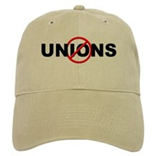 Anti / No Unions Baseball Cap