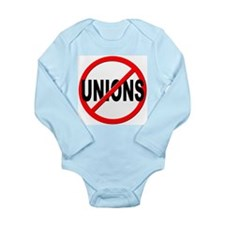 Anti / No Unions Long Sleeve Infant Bodysuit