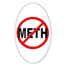Anti / No Meth Decal