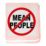 Anti / No Mean People baby blanket