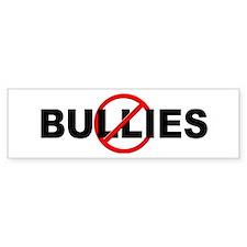Anti / No Bullies Bumper Sticker
