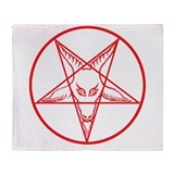 Baphomet Throw Blanket