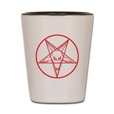 Baphomet Shot Glass