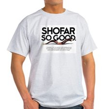 Shofar So Good Ash Grey T-Shirt