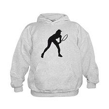 female tennis player Hoodie