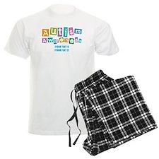 Personalize Autism Awareness Pajamas