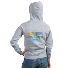 Personalize Autism Awareness Zip Hoodie
