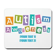 Personalize Autism Awareness Mousepad