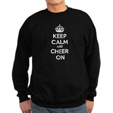 Keep calm and cheer on Sweatshirt
