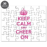 Keep calm and cheer on Puzzle