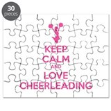 Keep calm and love cheerleading Puzzle