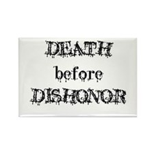 Death before Dishonor Rectangle Magnet