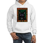 Boycott Made In China Save Do Hooded Sweatshirt