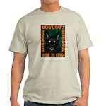 Boycott Made In China Save Do Ash Grey T-Shirt