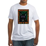 Boycott Made In China Save Do Fitted T-Shirt