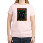 Boycott Made In China Save Do Women's Pink T-Shirt
