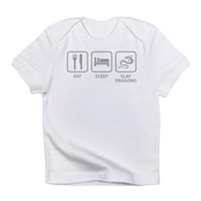 Eat Sleep Slay Dragons Infant T-Shirt
