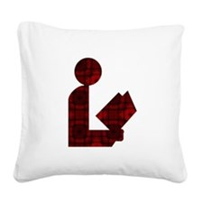 alaredmosaic.png Square Canvas Pillow