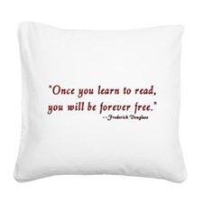 once.png Square Canvas Pillow