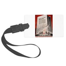 booksweapons.png Luggage Tag